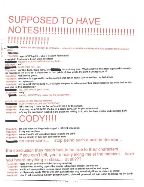 November 14, 2000 AIM Conversation w Teacher Pg2