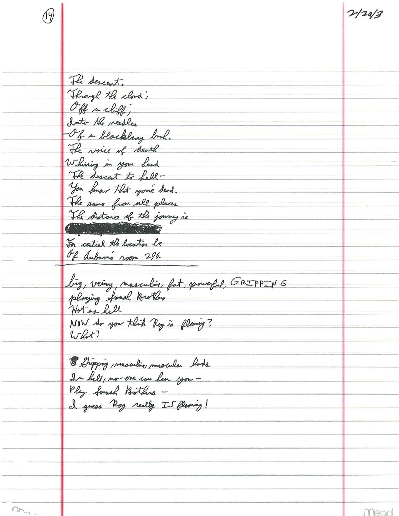 math worksheet : february  2013  cody gough dot   : Poems For High School Class Reunions