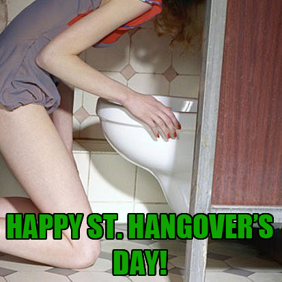 Happy St. Hangover's Day!