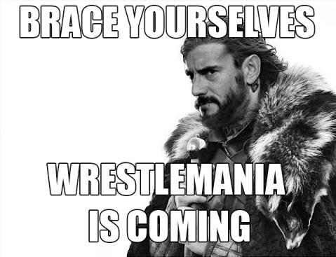 Brace Yourselves CM Punk Game of Thrones Meme