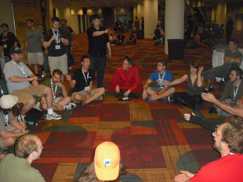 File footage of a Werewolf game at Gen-Con 2011